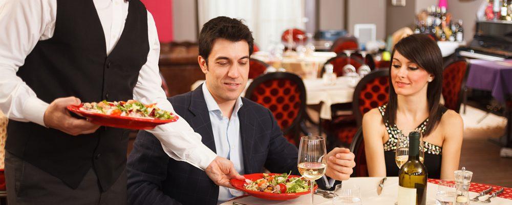 Restaurant slider image